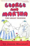 George and Martha Two Great Friends Early Reader - James Marshall