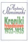 Kroniki tygodniowe t. 2, 1932-1935 - Antoni Słonimski