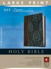 Premium Slimline Reference Bible-NLT-Large Print - Tyndale
