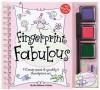 Fingerprint Fabulous: Create Sweet and Sparkly Thumbprint Art (Klutz) - Klutz, Bonnie Burton