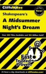 CliffsNotes on Shakespeare's A Midsummer Night's Dream (Cliffsnotes Literature Guides) - Karin Jacobson