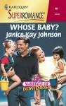 Whose Baby? - Janice Kay Johnson