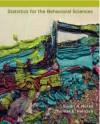 Statistics for the Behavioral Sciences - Susan Nolan, Thomas Heinzen