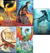 Wings of Fire 5 Book Set: Wings of Fire Book One: The Dragonet Prophecy / Wings of Fire Book Two: The Lost Heir / Wings of Fire Book Three: The Hidden Kingdom / Wings of Fire Book Four: The Dark Secret / Wings of Fire Book 5 / The Brightest Night - Tui T. Sutherland