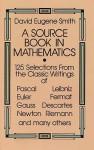 A Source Book in Mathematics - David Eugene Smith