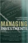 Managing Investments - Geoffrey A. Hirt, Stanley B. Block