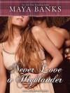 Never Love a Highlander - Maya Banks, Kirsten Potter