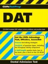 CliffsTestPrep DAT - American BookWorks Corporation, Mark Weinfeld, Walter Voland, Sasheena A. Kurfman, Dai Chinh Phan, CliffsNotes