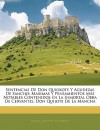 Sentencias de Don Quioxote y Agudezas de Sancho: Maximas y pensamientos m - Miguel de Cervantes Saavedra