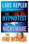 Joona Linna Crime Series Books 1-3: The Hypnotist, The Nightmare, The Fire Witness - Lars Kepler