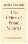 The Office of Prime Minister - Robert Blake