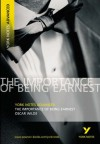 YNA Importance of Being Earnest (York Notes Advanced) - Oscar Wilde