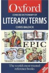The Concise Oxford Dictionary of Literary Terms - Chris Baldick