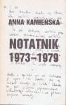 Notatnik 1973-1979 - Anna Kamieńska