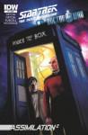 Star Trek TNG/Doctor Who: Assimilation #5 - Scott Tipton, David Tipton, Tony Lee, J.K. Woodward