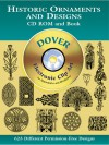 Historic Ornaments and Designs CD-ROM and Book - Dover Publications Inc.