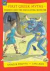 First Greek Myths: Theseus and The Minotaur - Saviour Pirotta, Jan Lewis