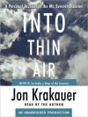Into Thin Air: A Personal Account of the Mt. Everest Disaster (Audio) - Jon Krakauer, Philip Franklin