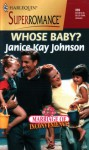 Whose Baby? (Marriage of Inconvenience) - Janice Kay Johnson