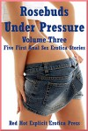 Rosebuds Under Pressure Volume Three: Five First Anal Sex Erotica Stories - Savannah Deeds, Andrea Tuppens, Kitty Lee, Andi Allyn, Francine Forthright
