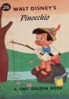 Walt Disney's Pinocchio (A Tiny Golden Book #26) - Jane Werner