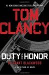 Tom Clancy Duty and Honor (A Jack Ryan Jr. Novel) - Grant Blackwood