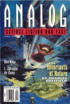 Analog Science Fiction and Fact, April 1993 - Stanley Schmidt, Maya Kaathryn Bohnhoff, Ben Bova, John G. Cramer, Marianne J. Dyson, Tom Easton, Anthony Lewis, Jerry Oltion, Grey Rollins, Charles Sheffield, L. Sprague de Camp