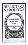 Martwe dusze - Mikołaj Gogol