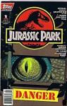 Jurassic Park #1 Danger (The Official Comics Adaptation of the Steven Spielberg Film, Volume 1) - Walter Simonson, Michael Chrichton, Gil Kane, George Perez