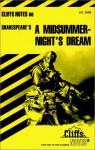 Shakespeare's A Midsummer Night's Dream (Cliffs Notes) - CliffsNotes, Matthew Black, William Shakespeare