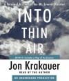 Into Thin Air (Audio CD ) - Jon Krakauer