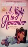 A Night to Remember - Ellen Conford, Jane McFann, Ellen Leroe