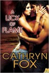 A Lick of Flame - Cathryn Fox