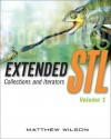 Extended STL, Volume 1: Collections and Iterators [With CDROM] - Matthew Wilson