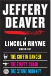 The Coffin Dancer / The Empty Chair / The Stone Monkey (Lincoln Rhyme, #2-4) - Boyd Gaines, Joe Mantegna, Jeffery Deaver