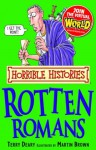 Horrible Histories: Rotten Romans - Terry Deary, Martin C. Brown