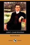 Lister's Great Adventure - Harold Bindloss
