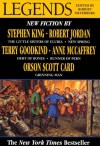 Legends: Stories By The Masters of Modern Fantasy (Legends, #1) - Robert Silverberg, Robert Jordan, Raymond E. Feist, Stephen King