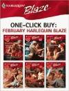 One-Click Buy: February Harlequin Blaze - Kimberly Raye, Alison Kent, Cara Summers, Isabel Sharpe