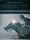 A People And A Nation With The History Handbook (Volume 2: Since 1865) - Mary Beth Nortonf, David W. Blight, David M. Katzman