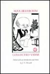 Max Beerbohm: Collected Verse - Max Beerbohm, Jacobus Gerhardus Riewald, J. G. Riewald