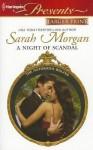 A Night of Scandal - Sarah Morgan