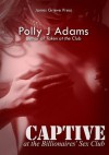 Captive at the Billionaires' Sex Club (submission and bondage with an alpha male) - Polly J. Adams