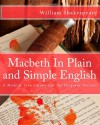 Macbeth In Plain and Simple English: A Modern Translation and the Original Version - BookCaps, William Shakespeare