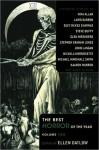 The Best Horror of the Year Volume 2 - Ellen Datlow, Suzy McKee Charnas, Reggie Oliver, Glen Hirshberg