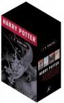 Harry Potter Adult Edition Box Set (Harry Potter, #1-4) - J.K. Rowling