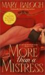 More Than A Mistress (Mistress Trilogy #1) - Mary Balogh, Jenny Sterlin