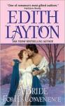 A Bride for His Convenience - Edith Layton