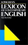 Longman Lexicon of Contemporary English - Tom McArthur