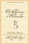 The Aphorisms of Kherishdar - M.C.A. Hogarth